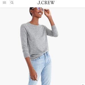 J.CREW Dark Grey Tippi Sweater